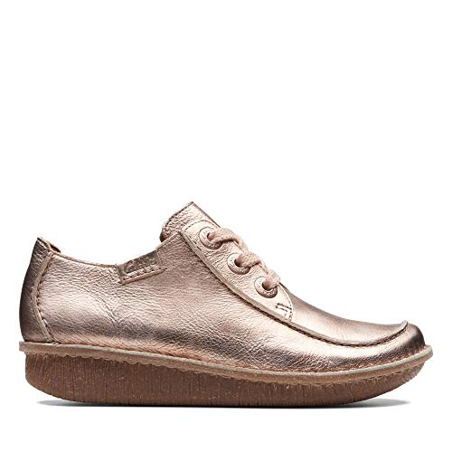Clarks Damen Funny Dream Derbys, Rot (Rose), 40 EU