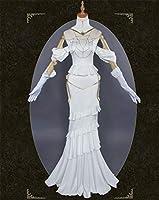 「即納品」Overlord風 オーバーロード風 アルベドふう 不死者の王 スカート ホワイト コスプレ衣装 コスチューム