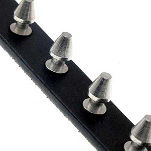 Spikes-1-rangée, ceinture cloutée