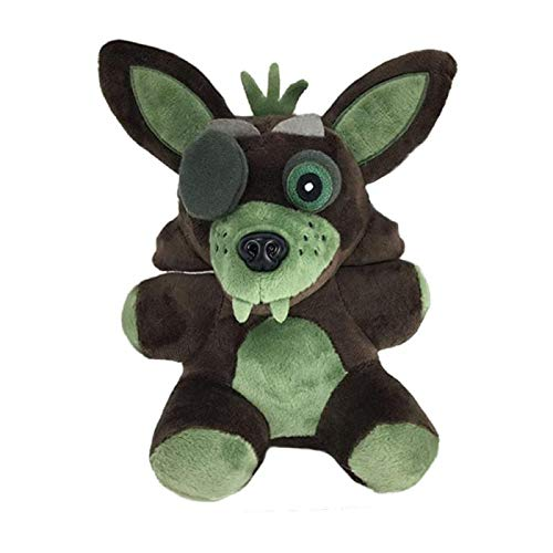 Five Nights at Freddy's Plush ToysAll Character Stuffed Animal Doll Children's Gift Collection ByLEXSmith (Foxy)