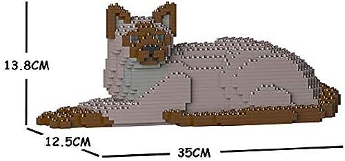 ahorre 60% de descuento JECKA Animal Building Blocks for Kidults Kidults Kidults Tonkinese Cat 03S-M01  contador genuino