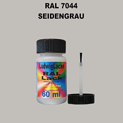 60 ml Lackstift mit Pinsel im Farbton RAL 7044 Seidengrau