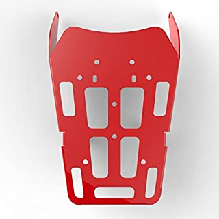 Cargo Rack Luggage Carrier Utility Rear Tail Holder Red Powdercoat fits: 12-16 Honda CRF250L - Immix Racing - 100-011-Red