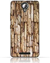 Lenovo A5000 TPU Silicone Case with Marble Stone Wall Design.