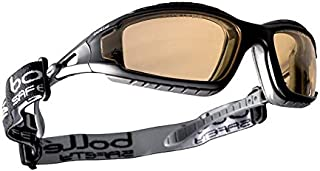 TPE Full Frame and Welding Lens Protective Industrial Products Boll/é Safety 253-TR-40089 Tracker Safety Eyewear with Black//Gray Polycarbonate
