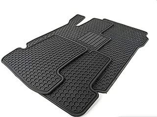 Mercedes Benz 2012 up C250, C350 Coupe All Weather Rubber Floor Mat Sets, Black