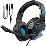 [New Edition] Mpow EG10 Gaming Headset with 3D...