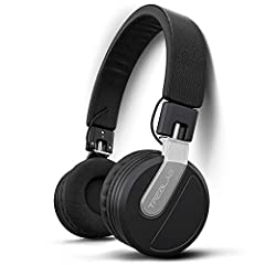 True-HD Stereo With Driving Bass - Exercise to powerful beats and deep bass and keep it to hardcore at the gym with our best headphones. Enjoy instant pairing & unbreakable connection w/ Bluetooth 5.0. Total Comfort For Travel & Sweaty Workouts - Fee...