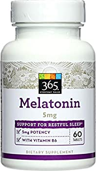 365 Everyday Value Melatonin 5mg 60 ct