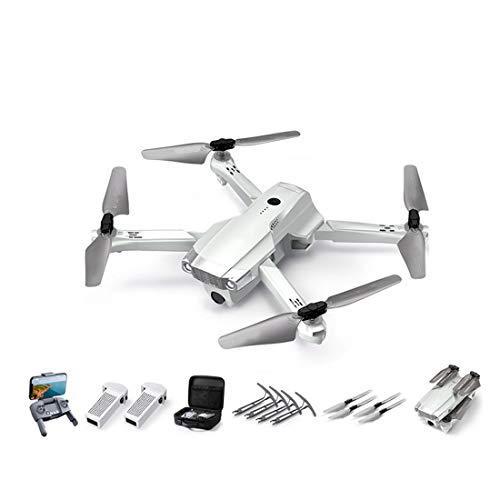HLONGG UAV Adulte Pliable avec 4K GPS caméra Frontale Suit Le vol de Cycle de Corps léger, Quadcopter avec Fonction Tour Rappel Automatique, l'achat recevra Un surclassement Gratuit,1