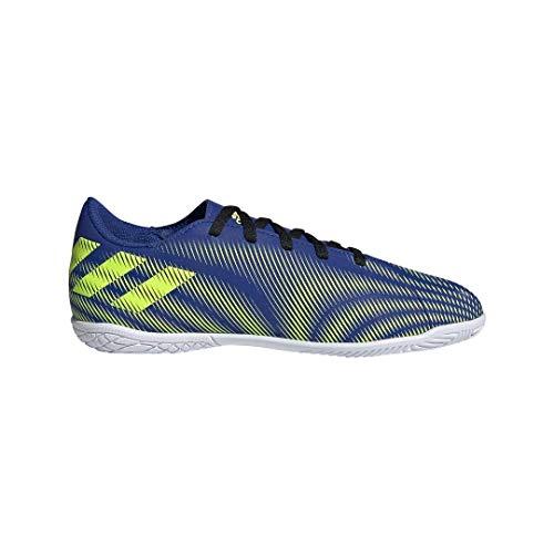 adidas Nemeziz .4 IN J, Zapatillas de fútbol, AZUREA/Amasol/FTWBLA, 36 2/3 EU