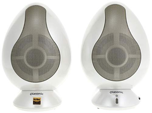 Olasonic USBパワードスピーカー (パールホワイト) TW-S9W