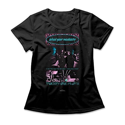 Camiseta Feminina Twenty One Pilots Shy Away