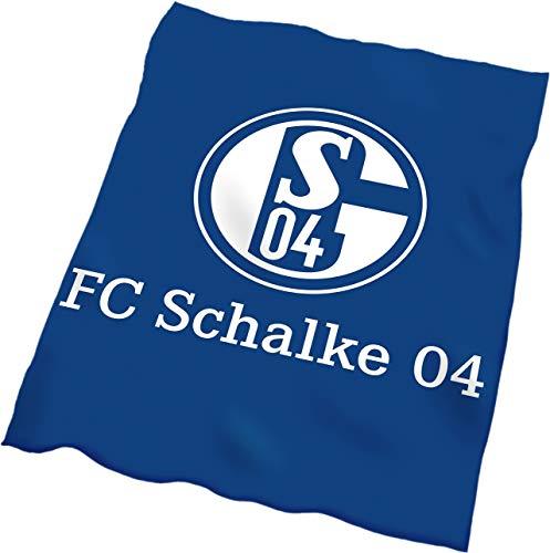FC Schalke 04 Fleecedecke Logo