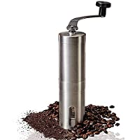 TopWang Manual Coffee Mill for Home, Traveling, Camping, Office