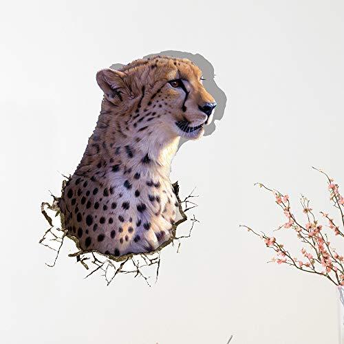 XLUIN Muursticker 3D Muursticker Paste Schilderij Animation Panda Slaapkamer Woonkamer Muurkunst 58 x 69 cm 010,58 x 69 cm
