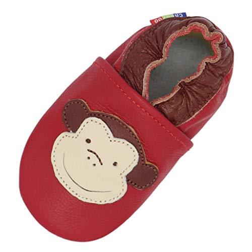 Carozoo Monkey red 6-12m