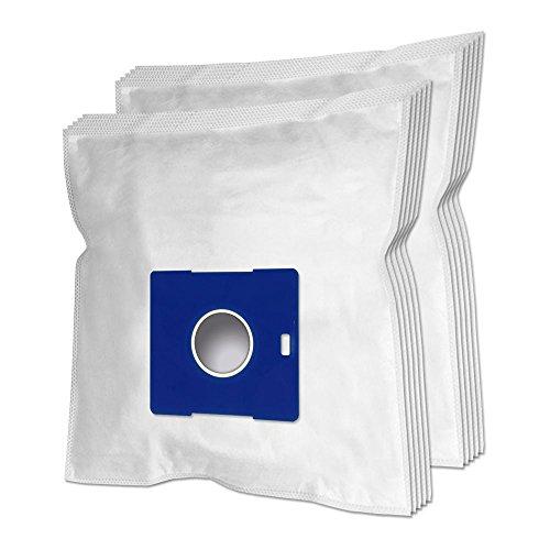 10 Premium Vacuum Cleaner Bags For LG Electronics: T 2700 T2700, V-C 2950 RD, V 4200 bis 4299 HTB, HTO, HTR, HTV, Magic, V-CQ 302, V-CQ 482 HTQ Alfomax, V-CQ 382 Blitz, V-CQ 372 HTQ LP, VCP542ND