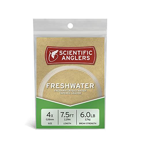 Rio Saltwater Fluoroflex Leader 100/% Fluorocarbon 9ft 3 Pack