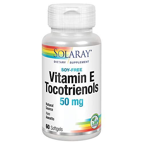 Solaray - Anatto Tocotrienols Tocopherol-Free 50 mg. - 60 Cápsulas gelatinosas
