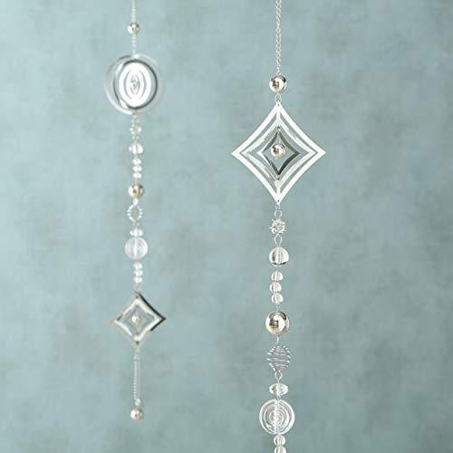 Girlande Windspiel Metall silber 1812-6024600 - 3