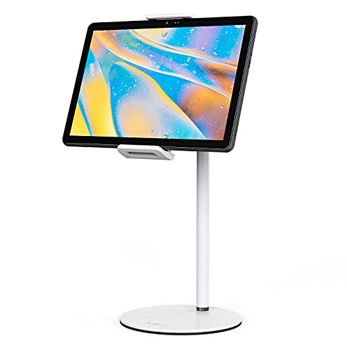 XIDU Philholder Tablet Stand Holder, Holder Stand for Desk 360° Rotating Portable Cell Phone Stand Height Adjustable Compatible with iPad Mini/Air/Pro, Kindle, Support 5.2'-13.3' Tablets or Phone