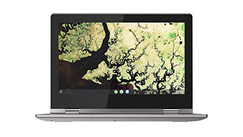 Lenovo Chromebook C340 11 Inch (11.6 Inch) HD Convertible Touchscreen Laptop - (Intel Celeron, 4 GB RAM, 32 GB eMMC, Chrome OS) - Platinum Grey