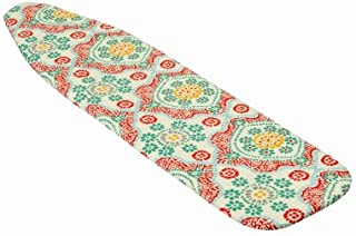 Honey-Can-Do INTL INC IBC-08256 Floral Pattern Basic Ironing Board Cover, 54-inches x 15-inches x 0.25-inch, 4-millimeters