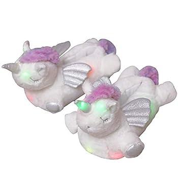 Best unicorn light up slippers Reviews