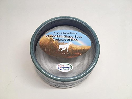 Goats' Milk Shave Soap