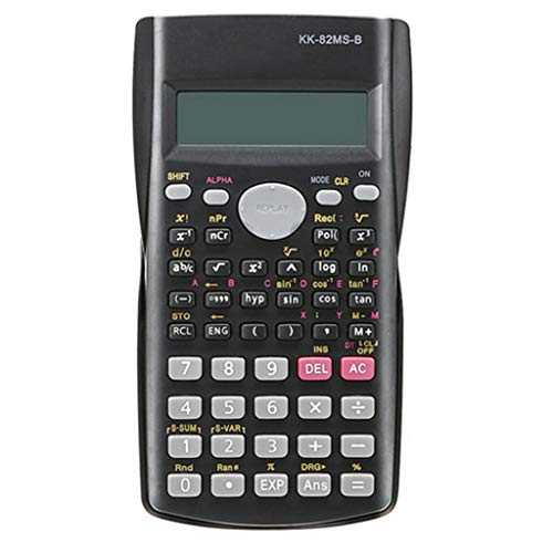 Mjd rekenmachine, draagbare batterij, voor studenten, rekenmachine, school met batterij voor rekenmachines