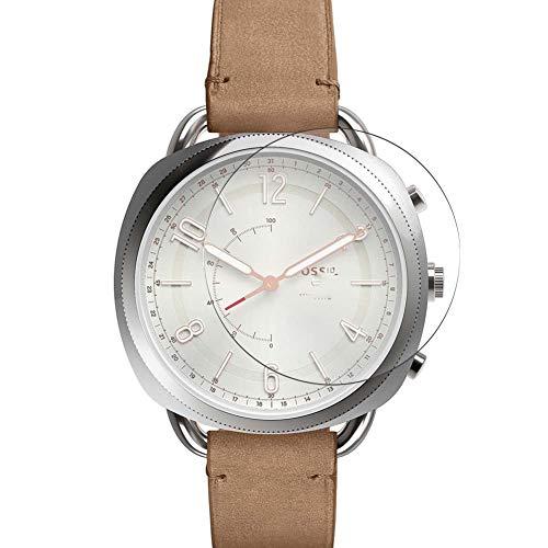 Vaxson 3 Stück Schutzfolie, kompatibel mit Fossil Q Accomplice Smartwatch Hybrid Watch, Bildschirmschutzfolie TPU Folie [ nicht Panzerglas ]