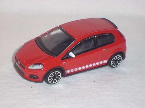 Generation Modell ab 2005 1//43 Bburago Modell Fiat Grande Punto Abarth Weiss 3