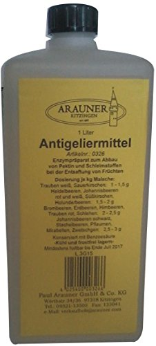 Anti-Geliermittel Arauner Kitzinger 1 Liter Großpackung