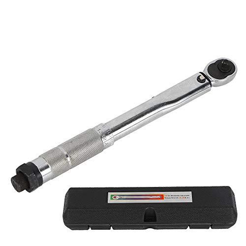 1/4-Zoll-Mehrzweck-Drehmomentschlüssel, 5-25 Nm, verstellbarer Handschlüssel, Ratsche