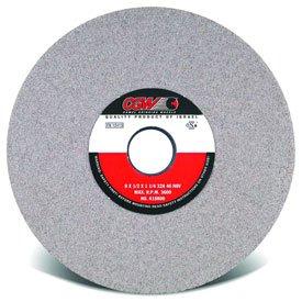 CGW Abrasives 37723 Centerless Grinding Wheel 14' x 2' x 5' Type 1 46 Grit Aluminium Oxide