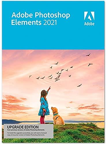 Adobe Photoshop Elements 2021 - Upgrade|1 Device|1 year|Windows/Mac|Dis