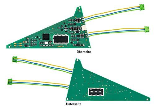 Märklin 74466 - Einbau-Digital-Decoder (für C-Gleis 24630), Spur H0