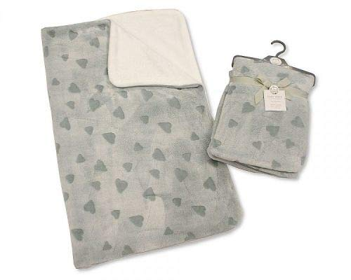 Baby Supersoft Wrap - Coeurs