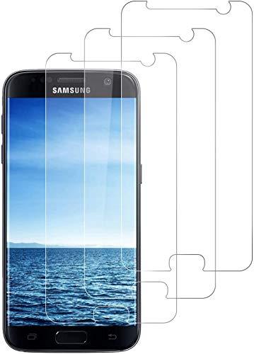 DOSNTO für Samsung Galaxy S7 Panzerglas 3 Stück, Anti-Öl Anti-Bläschen Anti-Kratzen Hülle Freundllich Gehärtetem Schutzfolie Panzerglasfolie