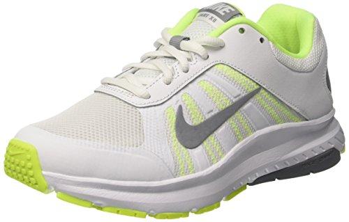 Nike Wmns Dart 12, Sneakers Mujer, Blanco (White/Stealth/Volt), 40.5 EU