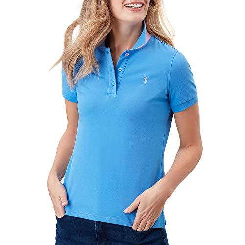 Joules Pippa Womens Polo Shirt UK 16 Reg Blue
