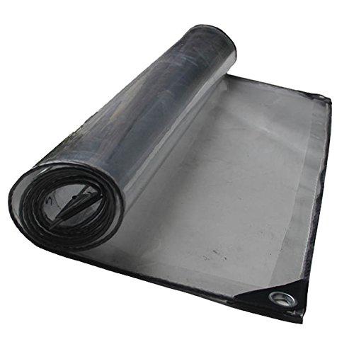 PENGFEI Transparent Plane Gewebeplane Wasserdicht Pflanzenschuppen Stoff Raumteiler Waren Abdeckung Antioxidation PVC, Dicke 0,5 Mm, 420 G/M2 (größe : 1.13x5m)