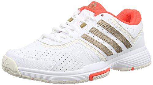 adidas Damen Barricade Court W Tennisschuhe, Weiß (Ftwwht/Coppm), 36 2/3 EU