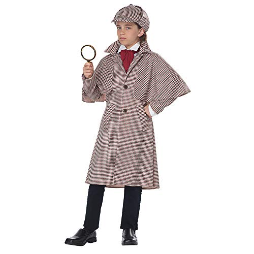 California Costumes Child Unisex Famous Detective Child Costume Tan/Brown, Large
