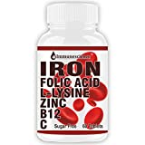 Best B12 Supplements - Immunescience Iron Supplement With Folic Acid Vitamin C Review