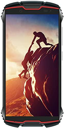 tallox Cubot King Kong Mini 2 Outdoor Handy Smartphone 4 Zoll Display, 3GB RAM 32GB interner Speicher, 3000mAh Akku, 13MP Kamera, Android 10, Dual SIM schwarz rot