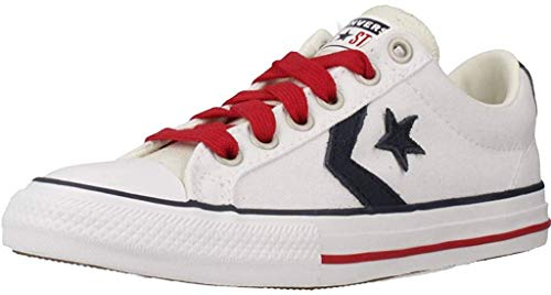 Converse Zapatillas Star Player EV - OX para Niños Blanco 29 EU