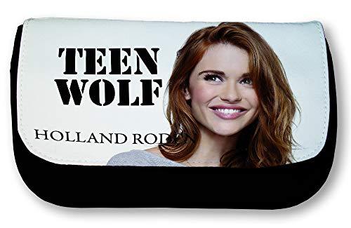 Estuche negro Holland Roden Teen Wolf Lydia Martin la Banshee