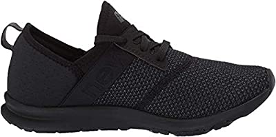 New Balance Women's FuelCore Nergize V1 Sneaker, Black/Magnet, 7.5 M US